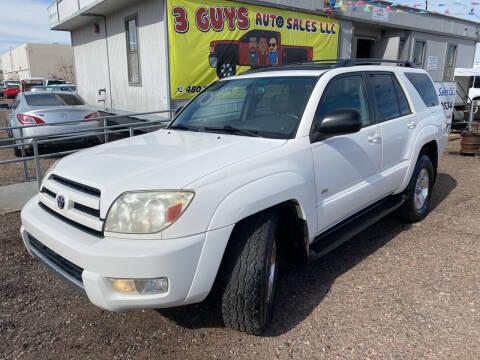 2004 Toyota 4Runner for sale at 3 Guys Auto Sales LLC in Phoenix AZ