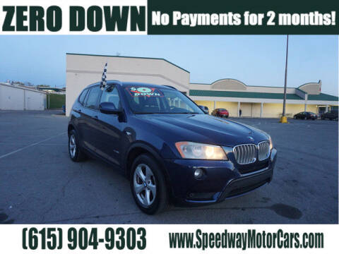 2011 BMW X3 for sale at Speedway Motors in Murfreesboro TN