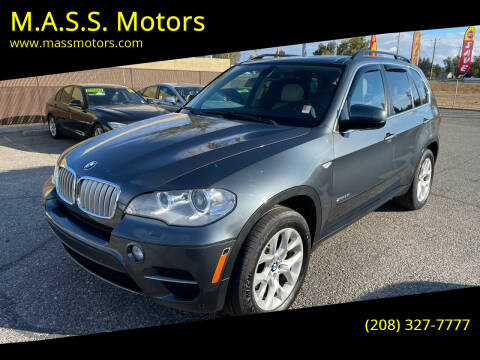 2013 BMW X5 for sale at M.A.S.S. Motors in Boise ID