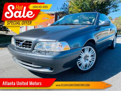 2004 Volvo C70 for sale at Atlanta United Motors in Buford GA