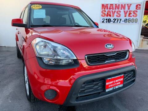 2013 Kia Soul for sale at Manny G Motors in San Antonio TX