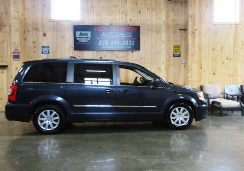 2014 Chrysler Town and Country for sale at Boone NC Jeeps-High Country Auto Sales in Boone NC