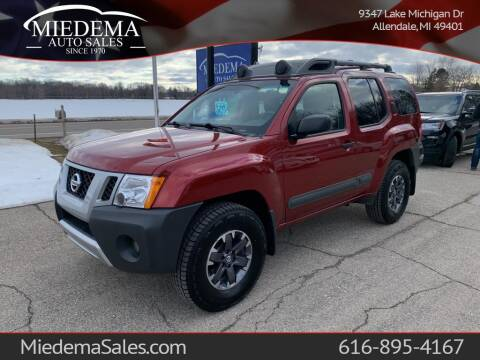 2015 Nissan Xterra for sale at Miedema Auto Sales in Allendale MI