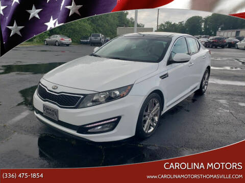 2013 Kia Optima for sale at CAROLINA MOTORS in Thomasville NC