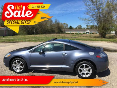2008 Mitsubishi Eclipse for sale at Autofinders in Gulfport MS