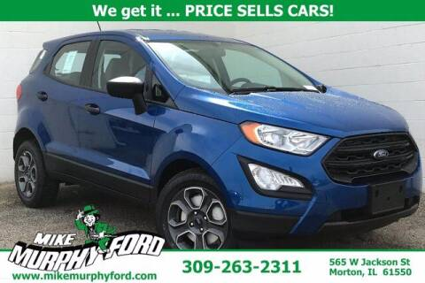 2021 Ford EcoSport for sale at Mike Murphy Ford in Morton IL