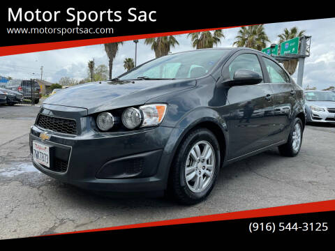 2016 Chevrolet Sonic for sale at Motor Sports Sac in Sacramento CA