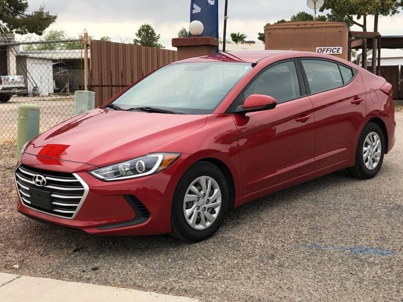 2017 Hyundai Elantra for sale at All Brands Auto Sales in Tucson AZ