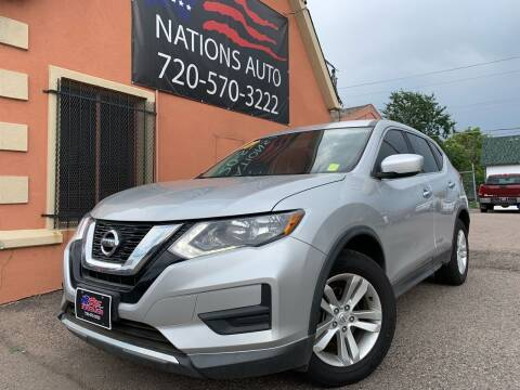 2017 Nissan Rogue for sale at Nations Auto Inc. II in Denver CO