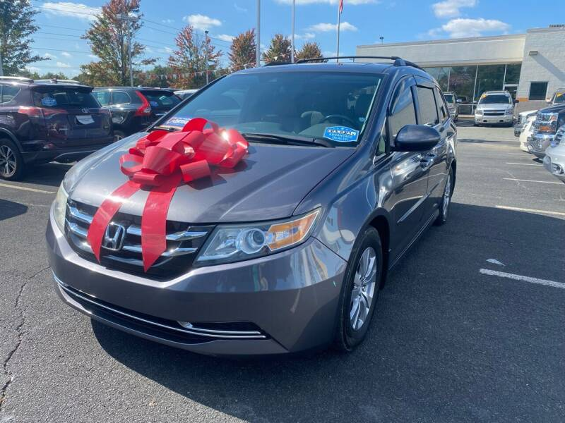 2015 Honda Odyssey for sale at Charlotte Auto Group, Inc in Monroe NC