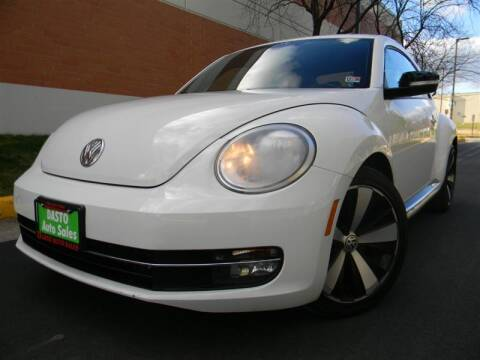 2013 Volkswagen Beetle for sale at Dasto Auto Sales in Manassas VA