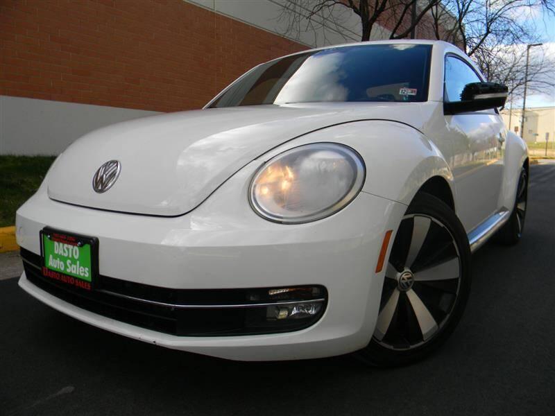 2013 Volkswagen Beetle for sale at Dasto Auto Sales in Manassas VA