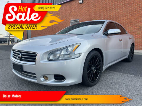 2012 Nissan Maxima for sale at Boise Motorz in Boise ID