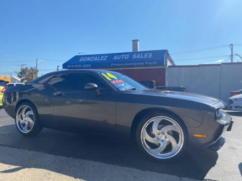 2014 Dodge Challenger for sale at Gonzalez Auto Sales in Joliet IL