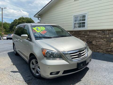 2009 Honda Odyssey for sale at No Full Coverage Auto Sales in Austell GA