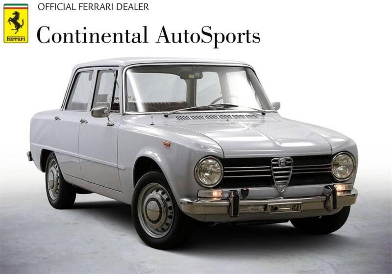 1970 Alfa Romeo Giulia for sale at CONTINENTAL AUTO SPORTS in Hinsdale IL