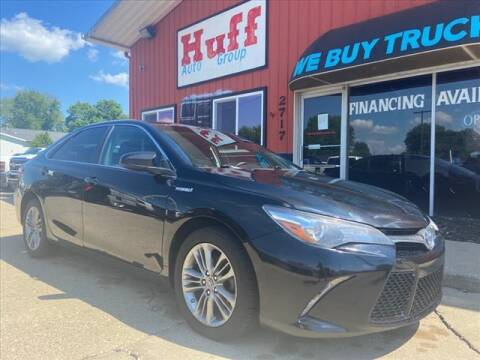 2017 Toyota Camry Hybrid for sale at HUFF AUTO GROUP in Jackson MI