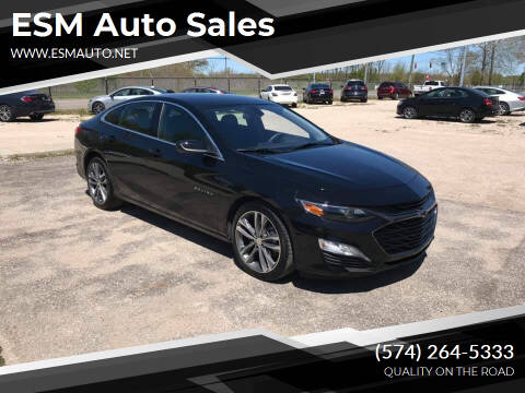 2021 Chevrolet Malibu for sale at ESM Auto Sales in Elkhart IN
