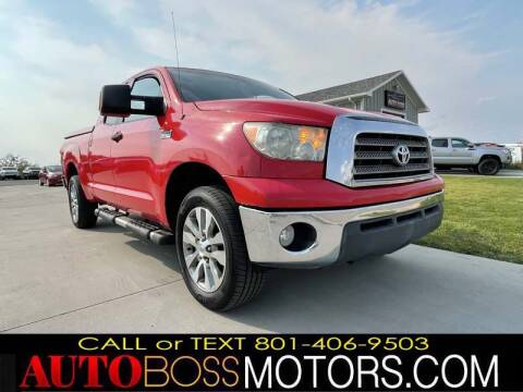 2008 Toyota Tundra for sale at Auto Boss in Woods Cross UT