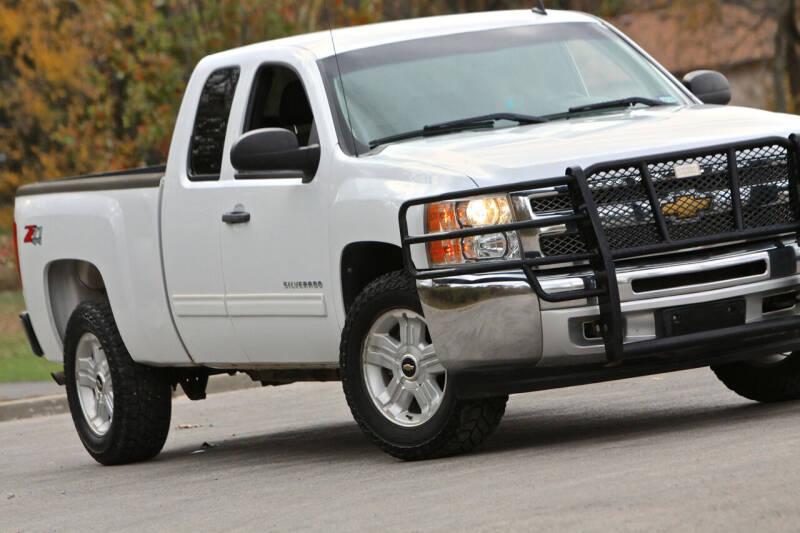 2012 Chevrolet Silverado 1500 for sale at P M Auto Gallery in De Soto KS