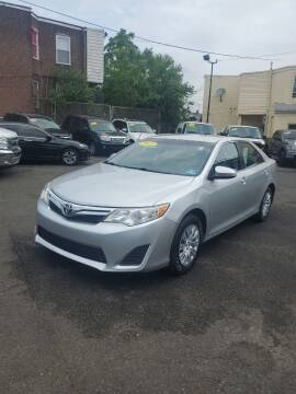 2013 Toyota Camry for sale at Key and V Auto Sales in Philadelphia PA