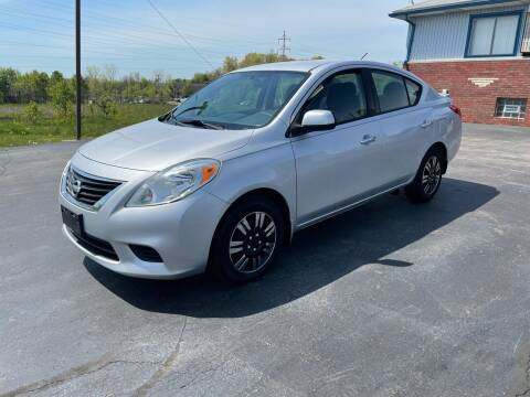 2014 Nissan Versa for sale at Country Auto Sales in Boardman OH
