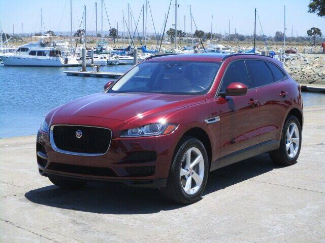 2017 Jaguar F-PACE for sale at Convoy Motors LLC in National City CA
