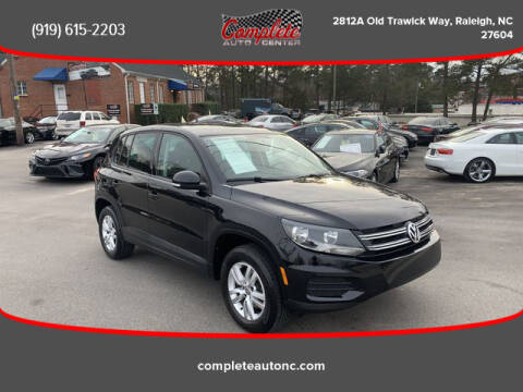 2012 Volkswagen Tiguan for sale at Complete Auto Center , Inc in Raleigh NC