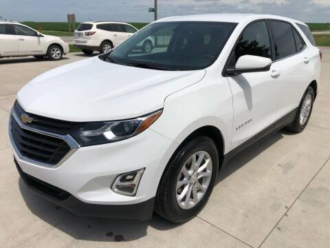 2018 Chevrolet Equinox for sale at SPANGLER AUTOMOTIVE in Glidden IA