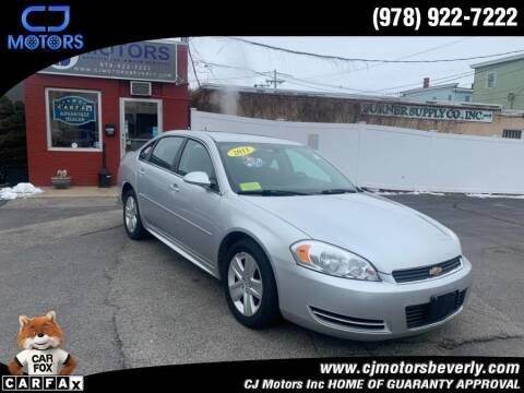 2011 Chevrolet Impala for sale at CJ Motors Inc. in Beverly MA