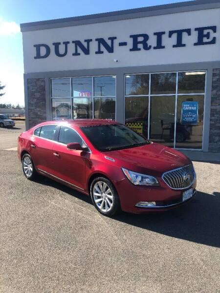 2014 Buick LaCrosse for sale at Dunn-Rite Auto Group in Kilmarnock VA