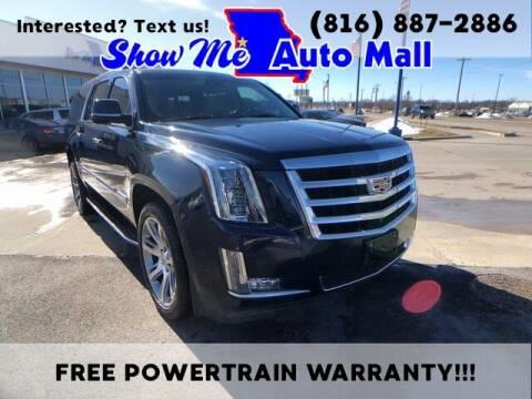 2017 Cadillac Escalade ESV for sale at Show Me Auto Mall in Harrisonville MO