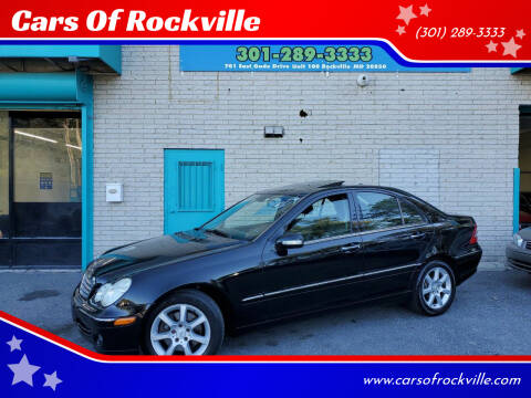 2007 Mercedes-Benz C-Class for sale at Cars Of Rockville in Rockville MD