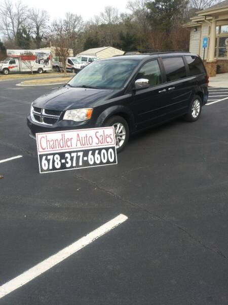 2014 Dodge Grand Caravan for sale at Chandler Auto Sales - ABC Rent A Car in Lawrenceville GA