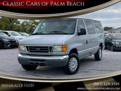 2006 Ford E-Series Wagon for sale at Classic Cars of Palm Beach in Jupiter FL