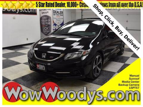 2015 Honda Civic for sale at WOODY'S AUTOMOTIVE GROUP in Chillicothe MO