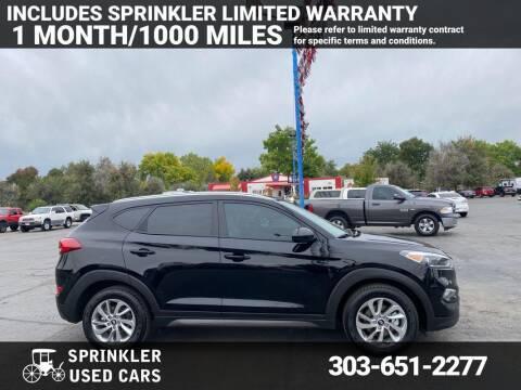 2016 Hyundai Tucson for sale at Sprinkler Used Cars in Longmont CO