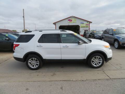 2013 Ford Explorer for sale at Jefferson St Motors in Waterloo IA