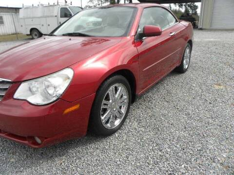 2008 Chrysler Sebring for sale at VANN'S AUTO MART in Jesup GA