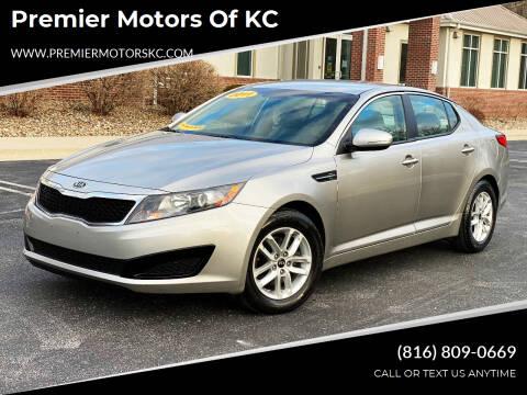 2011 Kia Optima for sale at Premier Motors of KC in Kansas City MO
