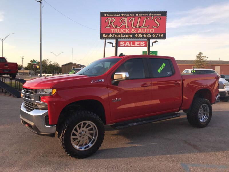 2019 Chevrolet Silverado 1500 for sale at RAUL'S TRUCK & AUTO SALES, INC in Oklahoma City OK