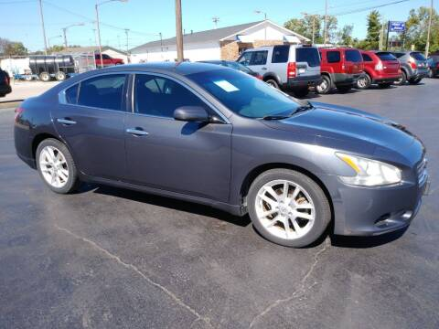 2009 Nissan Maxima for sale at Big Boys Auto Sales in Russellville KY