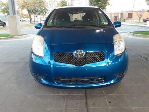 2007 Toyota Yaris for sale at Fredericksburg Auto Finance Inc. in Fredericksburg VA