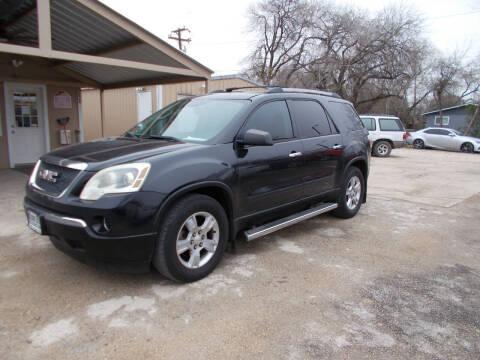 2011 GMC Acadia for sale at DISCOUNT AUTOS in Cibolo TX