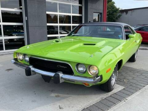 1973 Dodge Challenger for sale at Classic Car Deals in Cadillac MI