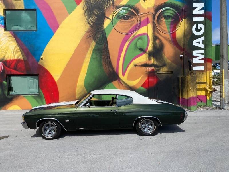 1971 Chevrolet Chevelle for sale at BIG BOY DIESELS in Ft Lauderdale FL