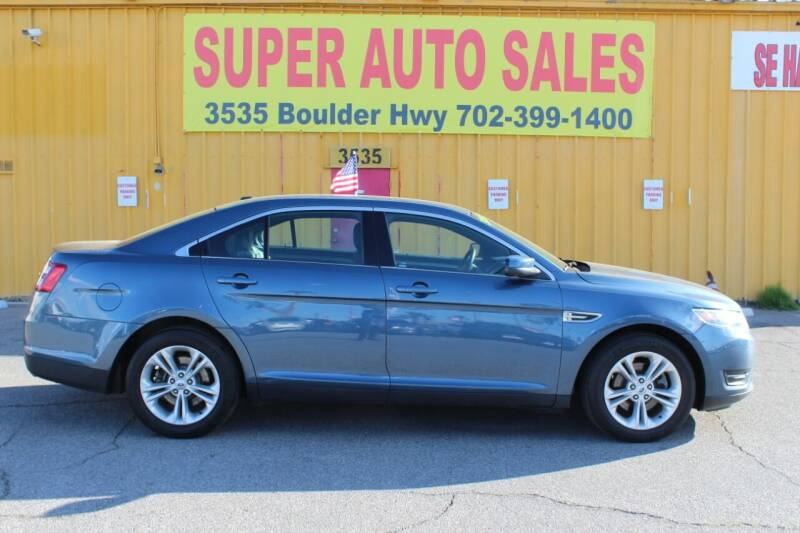 2018 Ford Taurus for sale at Super Auto Sales in Las Vegas NV