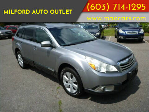 2011 Subaru Outback for sale at Milford Auto Outlet in Milford NH