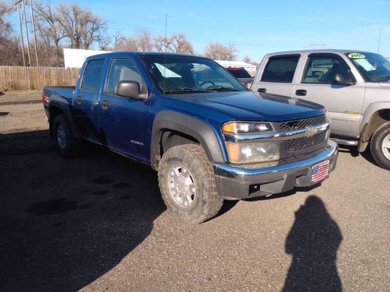 2005 Chevrolet Colorado for sale at L & J Motors in Mandan ND