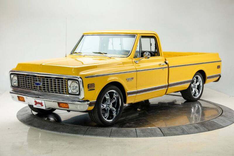 1972 Chevrolet C/K 10 Series for sale at Duffy's Classic Cars in Cedar Rapids IA